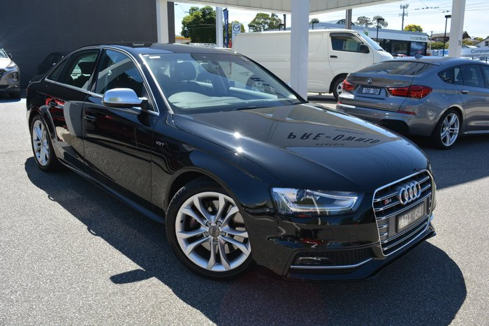 2015 Audi S4 B8 MY15 Four Wheel Drive Mythos Black