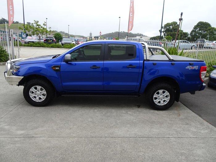 2016 Ford Ranger XLS PX MkII 4X4 Dual Range Blue