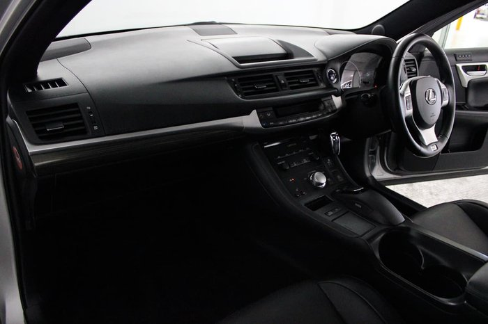 2012 Lexus CT CT200h F Sport ZWA10R Silver