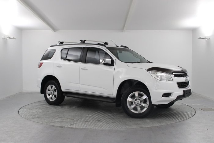 2015 Holden Colorado 7 LTZ RG MY16 4X4 Dual Range White