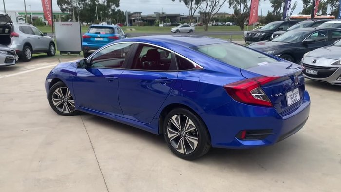 2019 Honda Civic VTi-L 10th Gen MY19 Blue