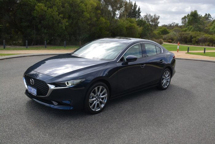 2019 Mazda 3 G25 Astina BP Series Deep Crystal Blue
