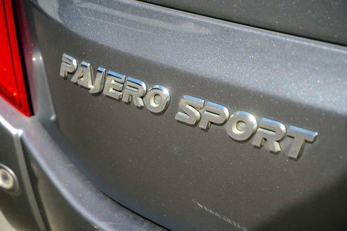 2015 Mitsubishi Pajero Sport Exceed QE MY16 4X4 Dual Range Grey