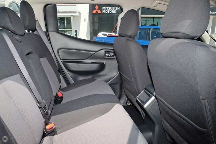 2020 Mitsubishi Triton GLX+ MR MY21 4X4 Dual Range White