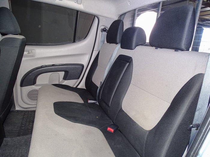 2015 Mitsubishi Triton GLX MN MY15 Silver