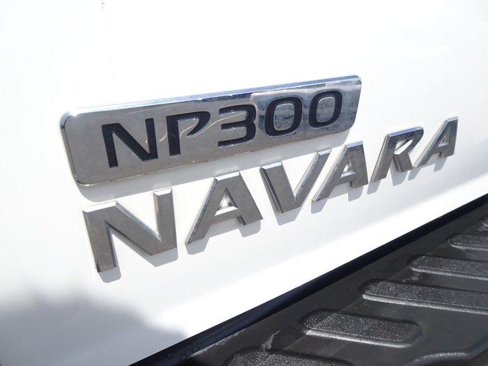 2016 Nissan Navara RX D23 Polar White