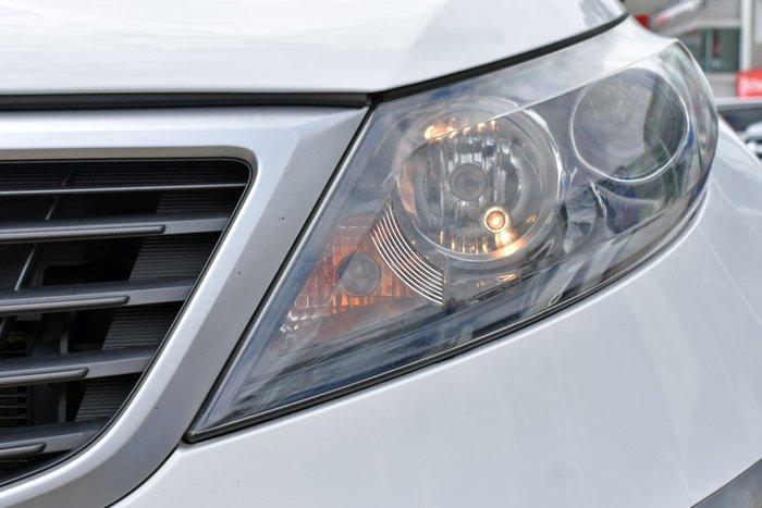 2011 Kia Sportage Si SL Clear White