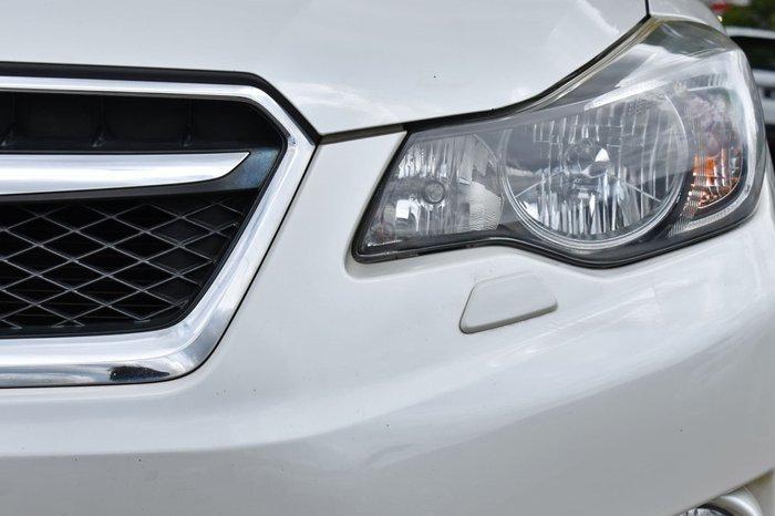 2012 Subaru XV 2.0i-S G4X MY13 Four Wheel Drive Satin White Pearl