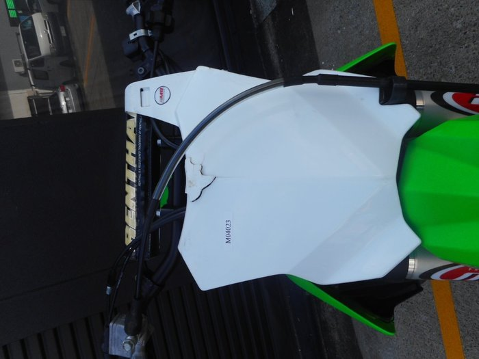 2018 Kawasaki KX450F GREEN