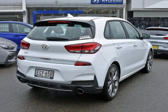 2020 Hyundai i30 N Line PD.3 MY20 Polar White