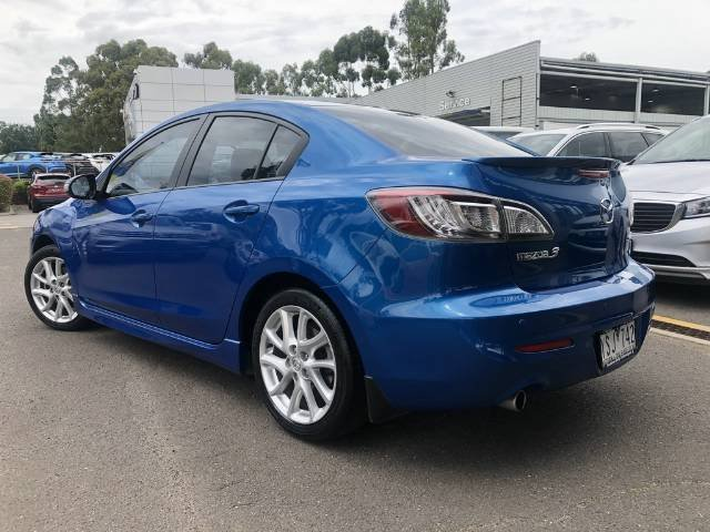 2011 Mazda 3 SP25 BL Series 1 MY10 CELESTIAL BLUE