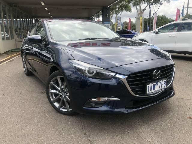2017 Mazda 3 SP25 Astina BN Series DEEP CRYSTAL BLUE