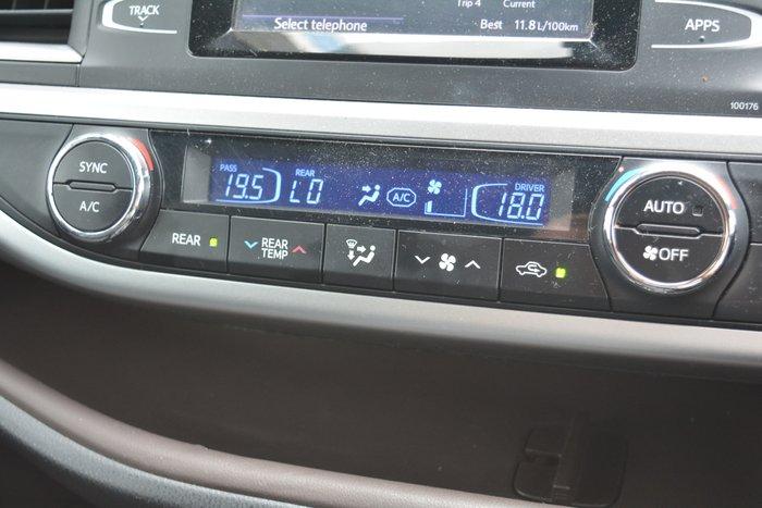 2015 Toyota Kluger GXL GSU50R Predawn Grey