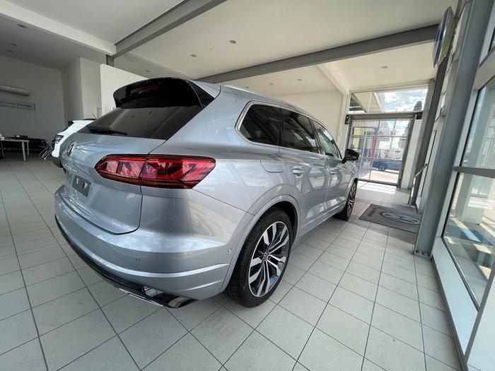 2020 Volkswagen Touareg V8 TDI R-Line CR MY21 Four Wheel Drive Antimonial Silver