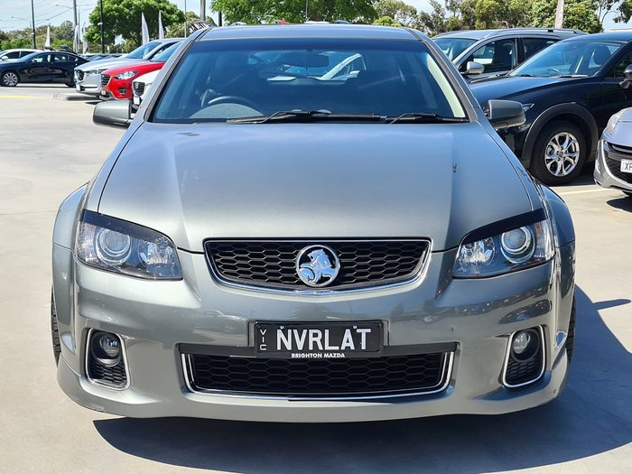 2012 Holden Commodore SS V Z Series VE Series II MY12.5 Grey