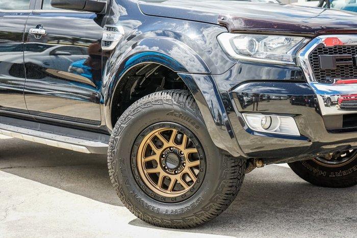 2015 Ford Ranger Wildtrak PX MkII 4X4 Dual Range Black
