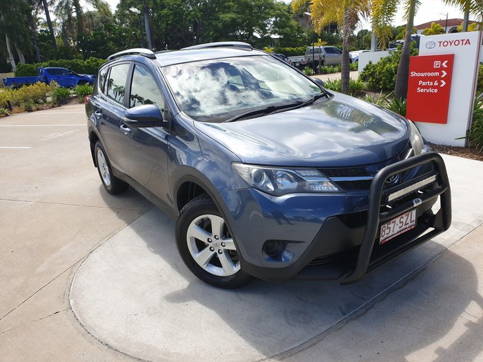 2013 Toyota RAV4 GX ASA44R 4X4 On Demand Cosmos Blue
