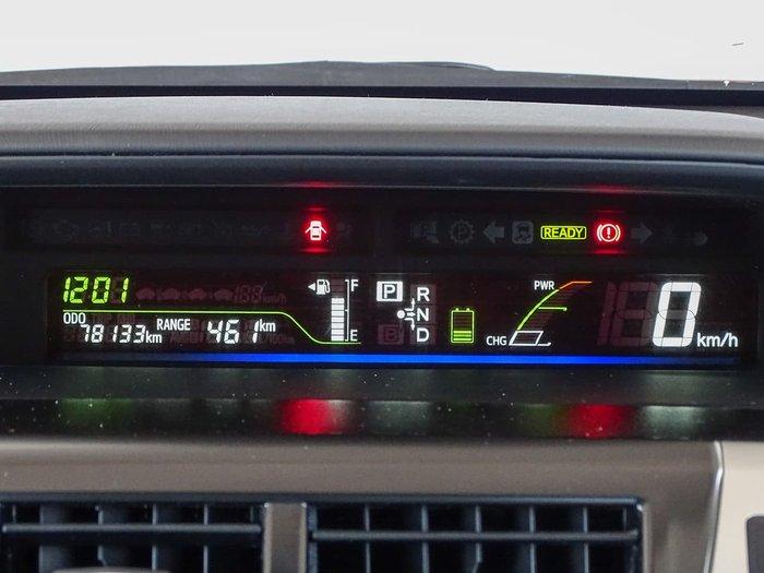 2012 Toyota Prius V ZVW40R Red