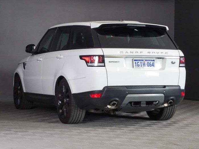 2016 Land Rover Range Rover Sport TDV6 SE L494 MY16.5 4X4 Constant White