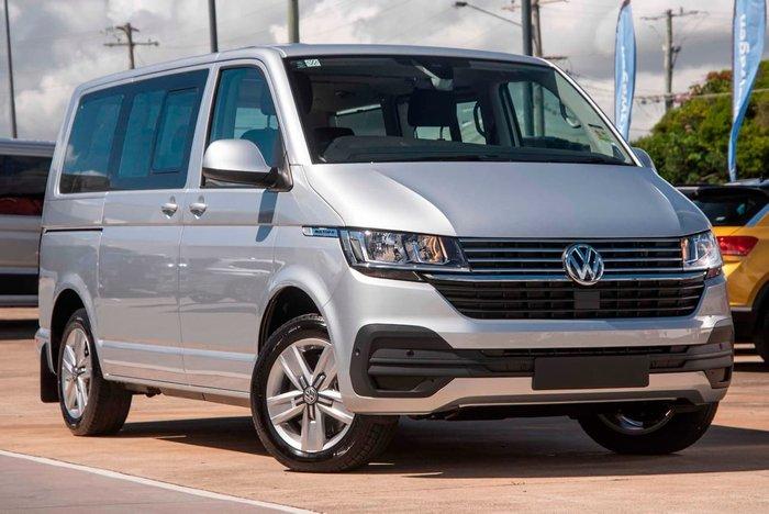 2020 Volkswagen Multivan TDI340 Comfortline Premium T6.1 MY21 Four Wheel Drive Silver