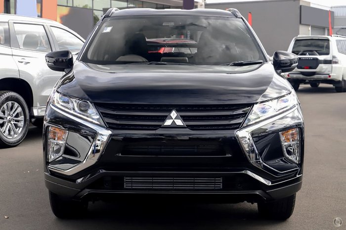 2020 Mitsubishi Eclipse Cross Black Edition YA MY20 Black