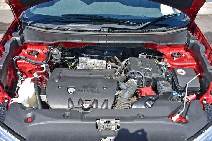 2013 Mitsubishi ASX XB MY13 Red