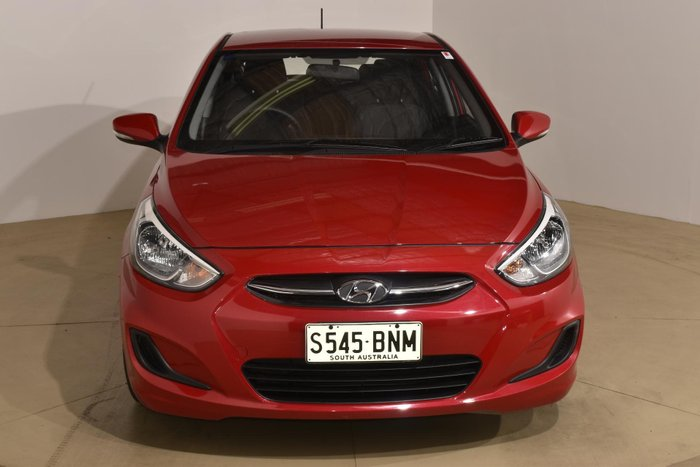 2016 Hyundai Accent Active RB4 MY16 Veloster Red