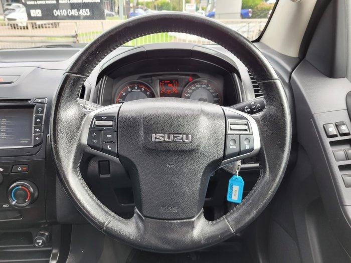 2018 Isuzu D-MAX SX MY17 Splash White