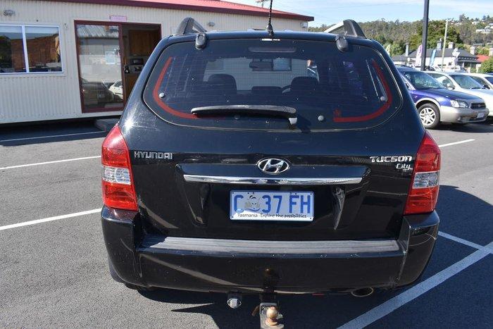 2009 Hyundai Tucson City SX JM MY09 Black