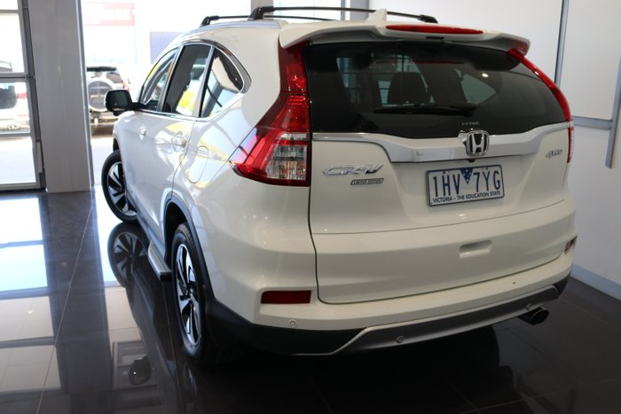 2016 Honda CR-V Limited Edition RM Series II MY17 4X4 On Demand White