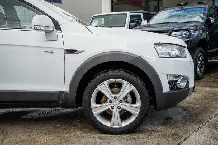 2012 Holden Captiva 7 LX CG Series II 4X4 On Demand White