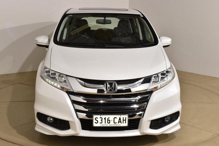 2016 Honda Odyssey VTi-L 5th Gen MY16 White Orchid