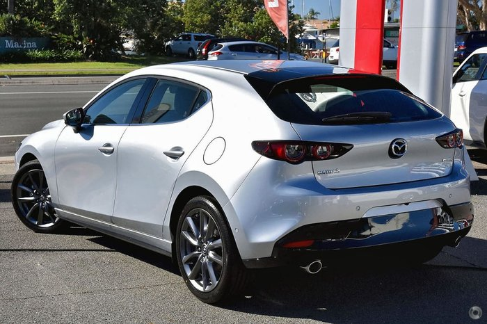 2020 Mazda 3 G20 Touring BP Series Silver