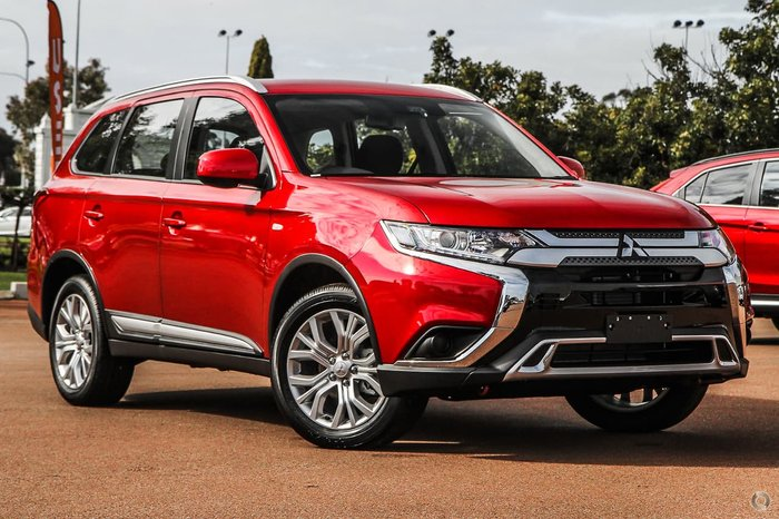 2020 Mitsubishi Outlander ES ZL MY20 4X4 On Demand Red
