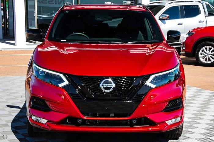 2020 Nissan QASHQAI Midnight Edition J11 Series 3 MY20 Red