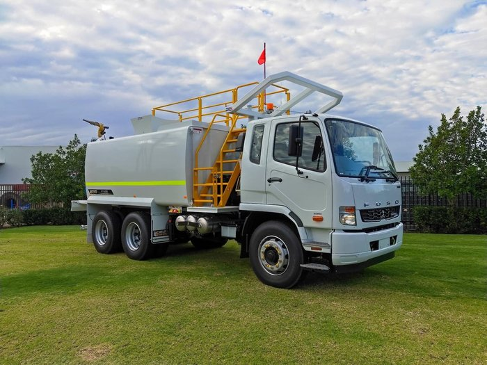 2021 FUSO FIGHTER 2427 White