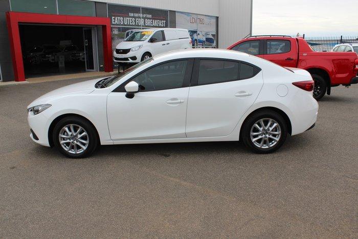 2015 Mazda 3 Neo BM Series Snowflake White Pearl