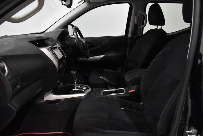 2016 Nissan Navara ST D23 Series 2 4X4 Dual Range Cosmic Black