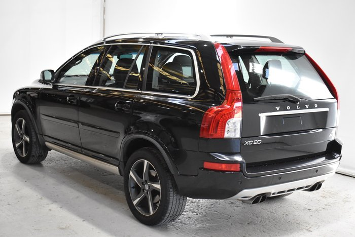 2012 Volvo XC90 R-Design MY12 4X4 On Demand Black