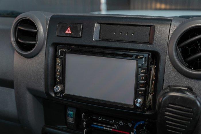 2012 Toyota Landcruiser Workmate VDJ79R MY10 4X4 Dual Range French Vanilla