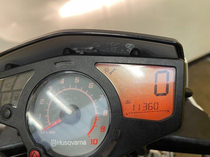 2013 HUSQVARNA TR 650 STRADA (ABS) Black