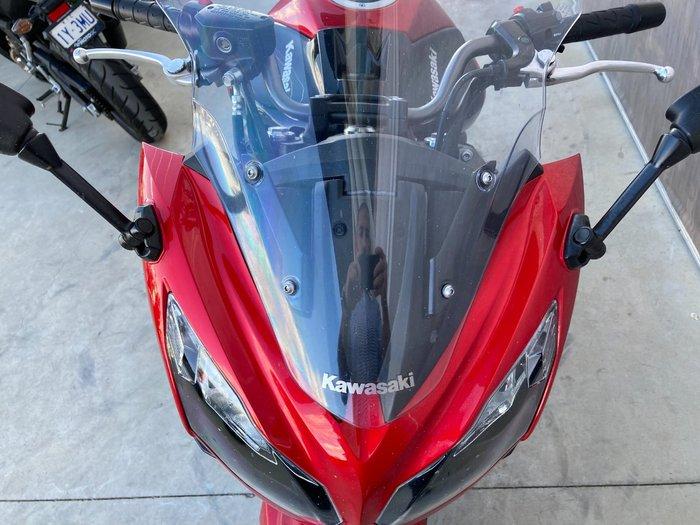 2016 Kawasaki NINJA 650L Red