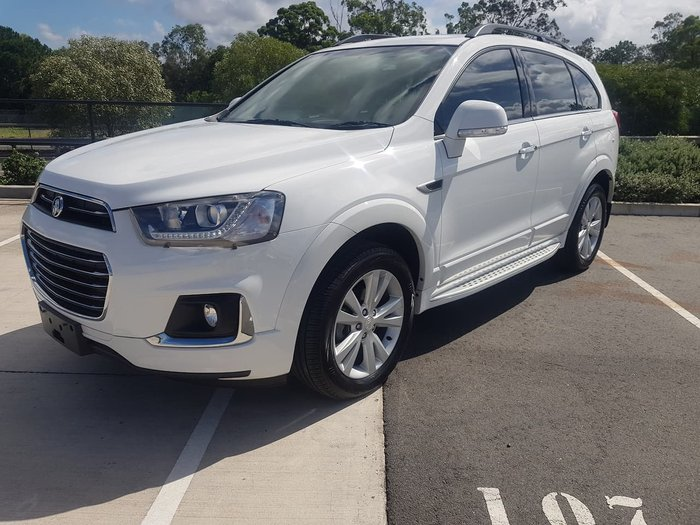 2016 Holden Captiva LT CG MY17 4X4 On Demand White