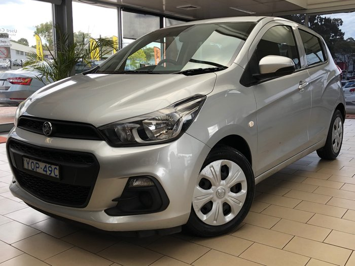 2016 Holden Spark LS MP MY16 Nitrate