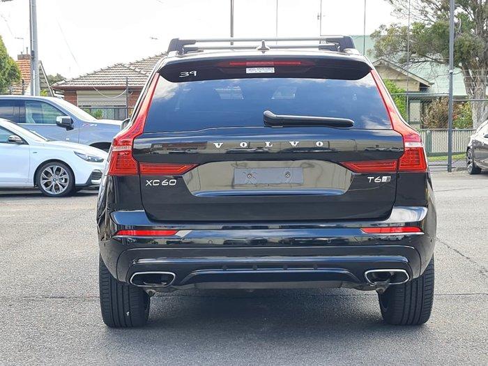 2017 Volvo XC60 T6 R-Design MY18 Four Wheel Drive Black