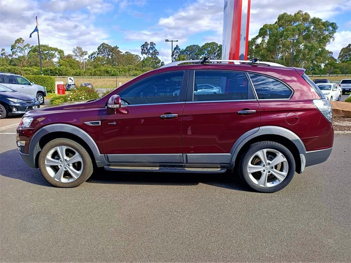 2012 Holden Captiva 7 CX CG Series II MY12 4X4 On Demand White