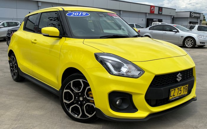 2019 Suzuki Swift Sport AZ Yellow
