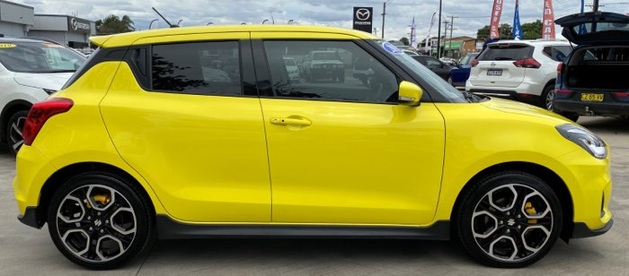 2019 Suzuki Swift Sport AZ Champion Yellow