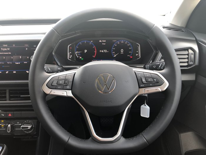 2020 Volkswagen T-Cross 85TSI Life C1 MY21 Pure White