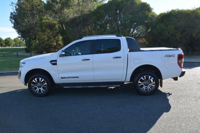 2017 Ford Ranger Wildtrak PX MkII MY18 4X4 Dual Range Frozen White